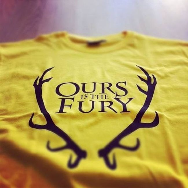 Ours is the fury Baratheon Gameofthrones Fury Book igersperu