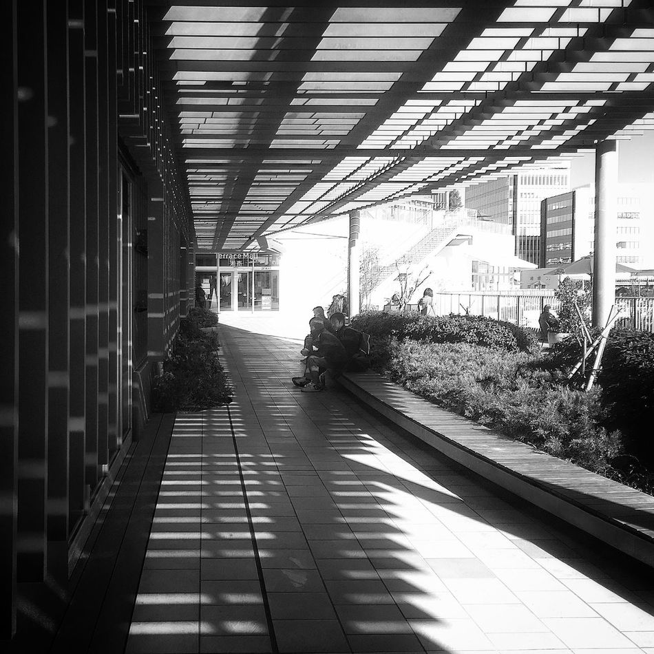 Open前のひと時 Hello World Enjoying The Sun Beautiful Day IPhoneography EyeEmBestPics テラスモール湘南 Shillouette OpenEdit Relaxing