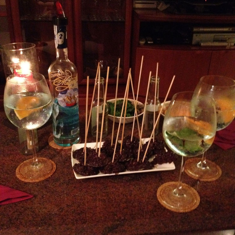 Gin tonic Summer Night by Agaliu