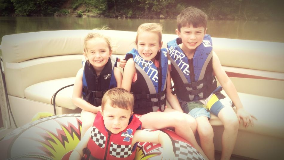 My four babies; they would live on the water! 🌞⛵💜
