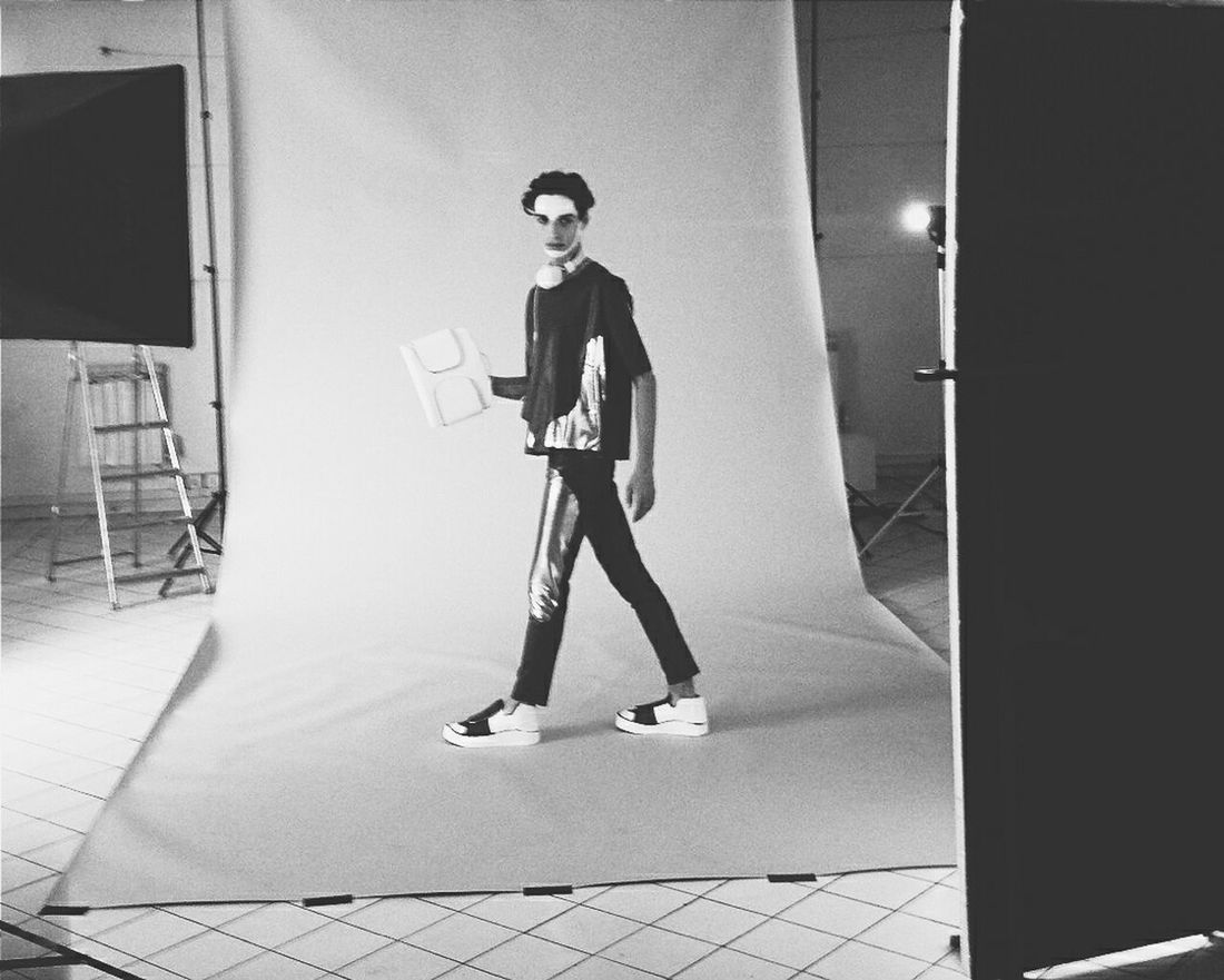 Behind the scene, transhuman collection Fashion Project Collection Transhuman Blackandwhite
