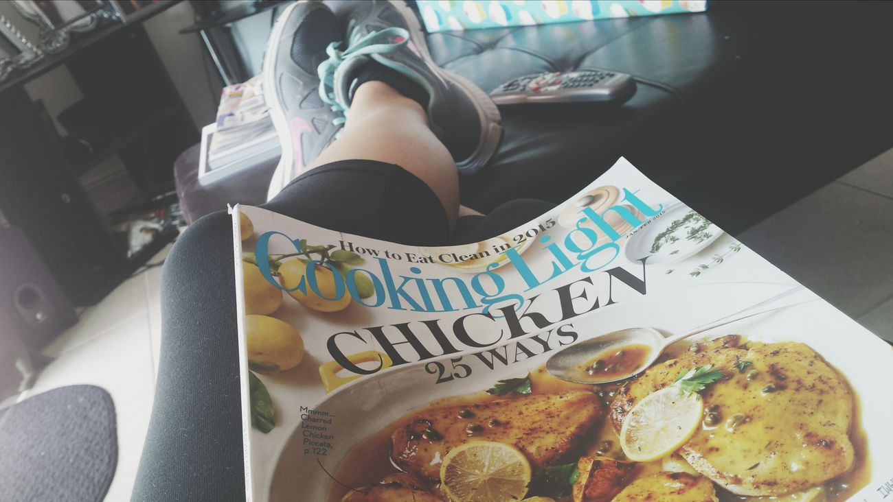 01/02/2015: after a great morning run. Healthylife Cookinglight Favoritemagazine Healthyliving