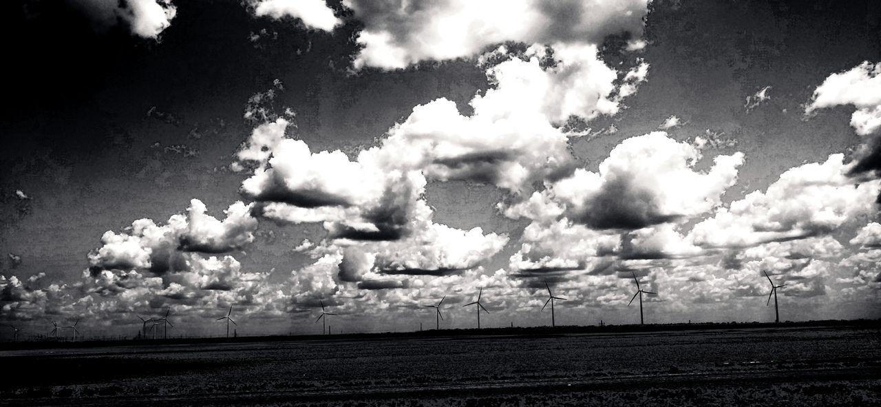 Skywithclouds Plainsandwindmills Northtexasvastness From My Window DeepintheheartofTexas