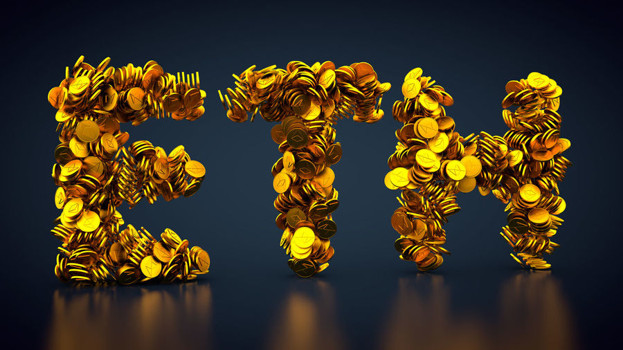 crypto currency ether Currency Gold Golden Coin Coins Crypto Currency Cryptocurrency Cryptography Eth Ether Ethereum Finance Financial Gold Colored Money