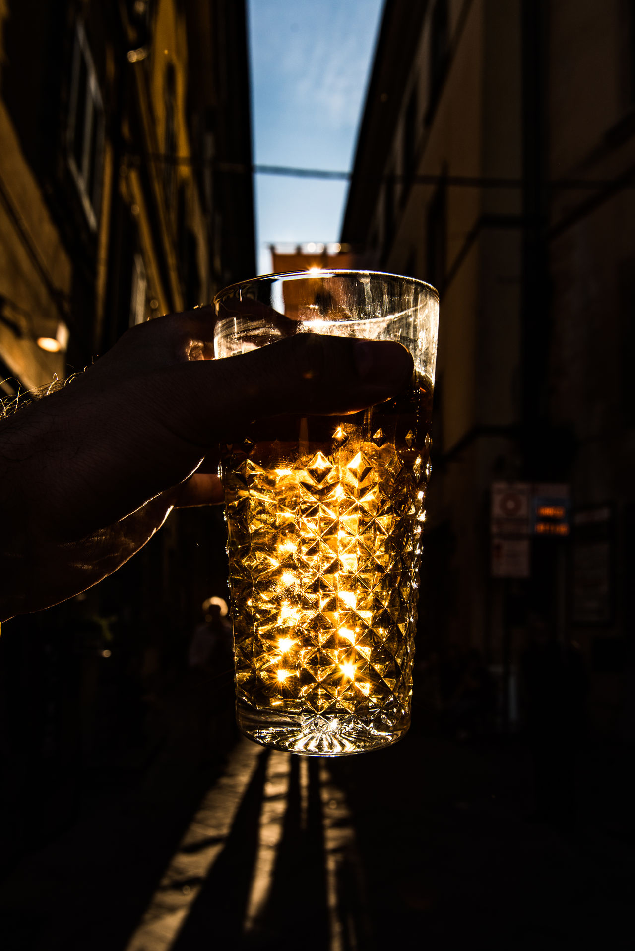 Beer Cheers Dark Decoration Focus On Foreground Glass Glowing Heineken Illuminated Light Lit Night No People Selective Focus Slàinte The Following The Essence Of Summer Colors And Patterns TakeoverContrast