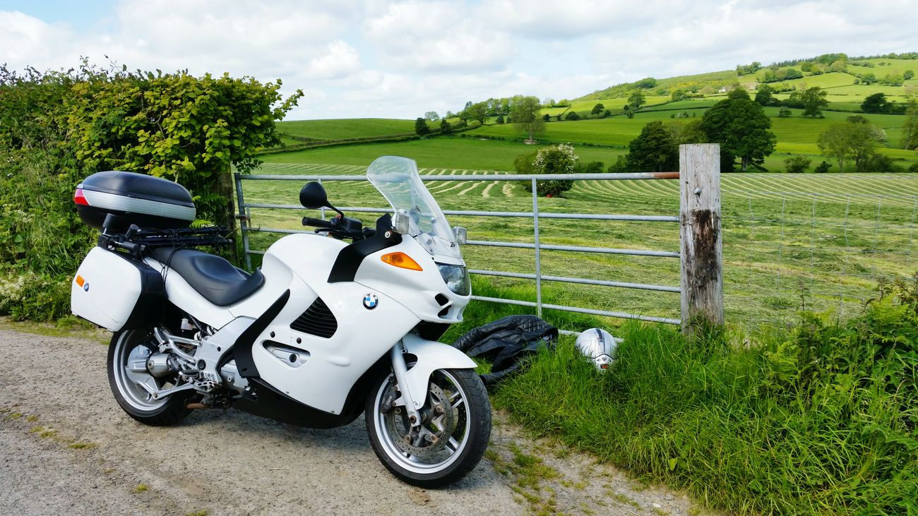 Touring with my trusty steed. Motorbike Touring Motorcyle Bmw Motorcycle Bmw Wales Summer