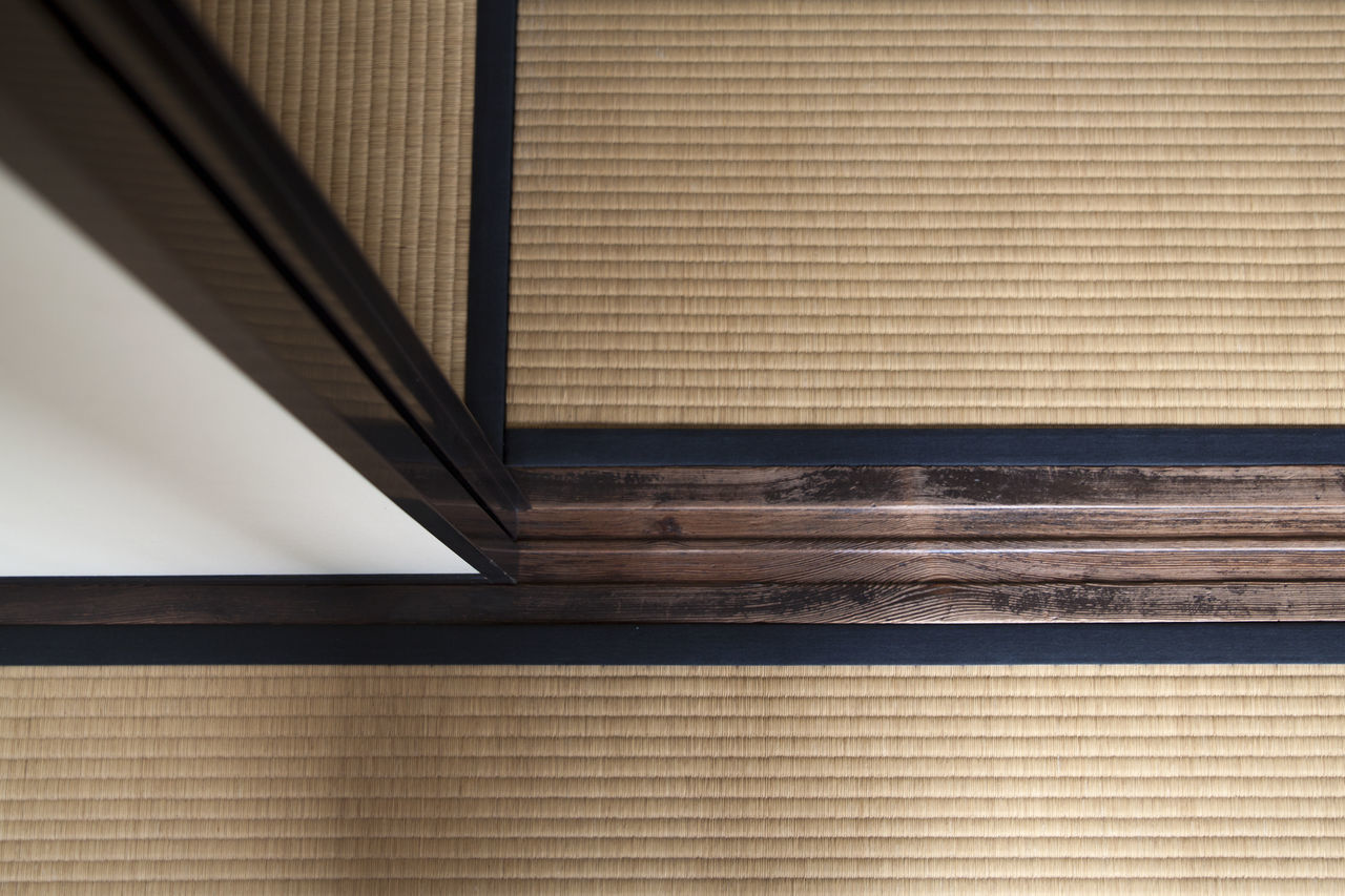 shoji screen timber sliding door and tatami mats in traditional house in Tokyo Architectural Detail Architecture Backgrounds Built Structure Close-up Day Detail Indoors  Japan Japan Style Japanese  Japanese Culture No People Pattern Shoji Shoji Screen Sliding Door Tatami Tatamiroom Timber Traditional Culture Traditional House Traditional Japanese Design Principles Traditional Japanese House Zoology