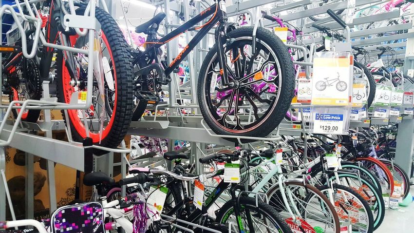 Bicycle Abundance No People Large Group Of Objects Indoors  Day Close-up