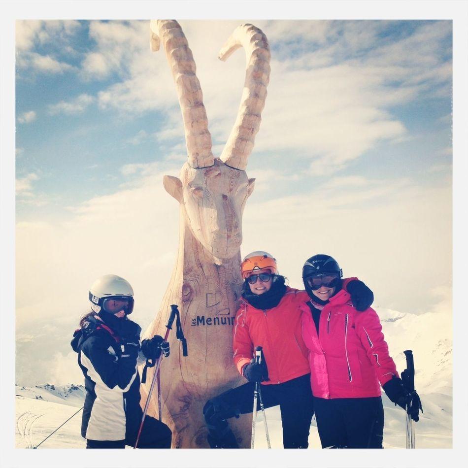 Skiing On Sait Faire La Fete Aux Ménuires Montagne ?