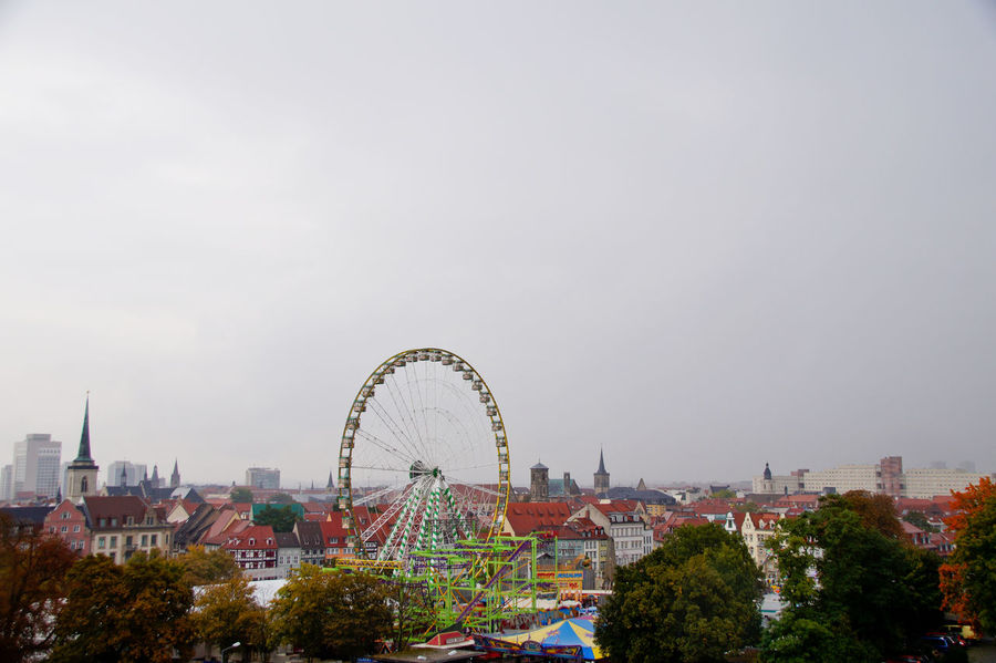 Cityscape Dom Jahrmarkt Postcode Postcards Rethink Things Second Acts Amusement Park Amusement Park Ride Arts Culture And Entertainment Big Wheel Building Exterior Day Dome Ferris Wheel Leisure Activity No People Outdoors Sky Tree