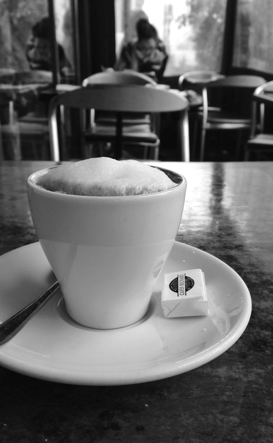 Learning in a coffee shop Part 3 Troquet Parisien Fortheloveofblackandwhite From My Point Of View
