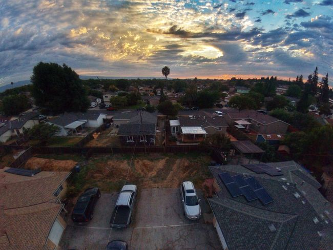Aerial Shot Milpitas Sunset_collection