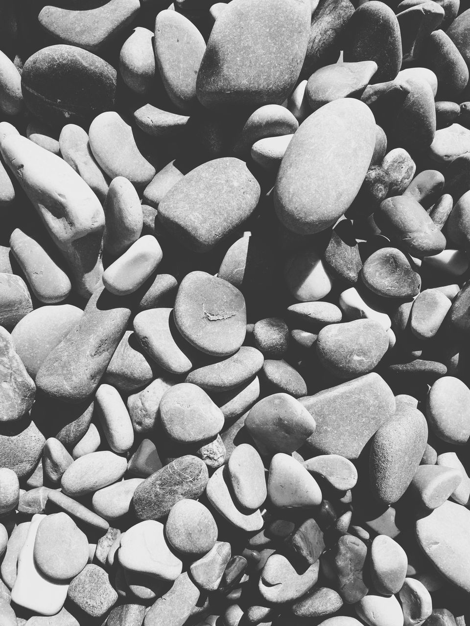 pebble, large group of objects, full frame, abundance, backgrounds, no people, pebble beach, beach, nature, close-up, outdoors, day