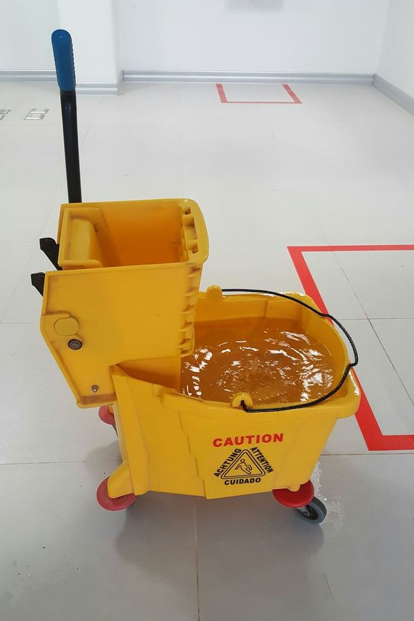 Archival Yellow DIY No People Indoors  Renovation Day Caution Caution Sign Safetyfirst Safety Equipment Safety Zone Attention Achtung Cuidado Water Slipway Slipper  Slipnslide