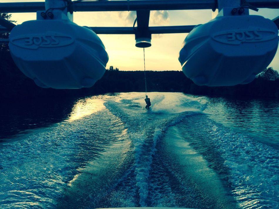 Water Water Sports FreeTime Wake Boarding Boat Music Fun