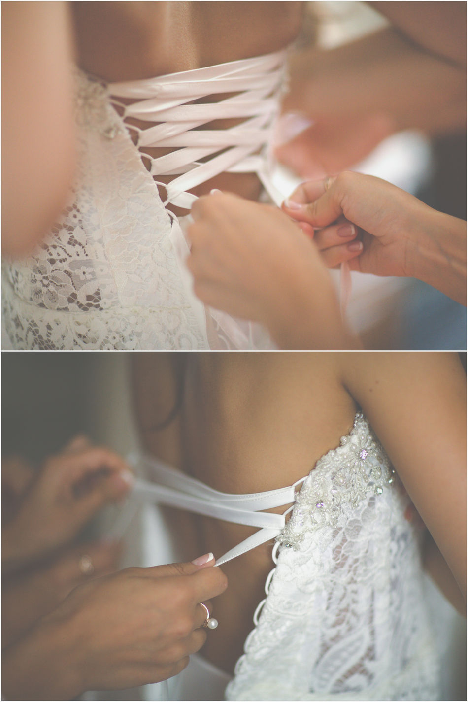 Bride Cute Decorations Details Dressing Up France French Human Hand Indoors  Indoors  Lace Morning Paris Preparations Tender Wedding Wedding Day Wedding Dress Wedding Photography Women