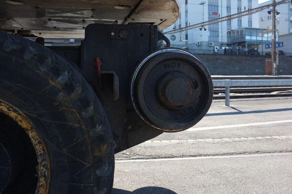 Construction Construction Site Development Engineering Excavator Land Vehicle Machine Part Machinery Mode Of Transport Railway Construction Tire Track Construction Vehicle Part Wheel The Architect - 2016 EyeEm Awards