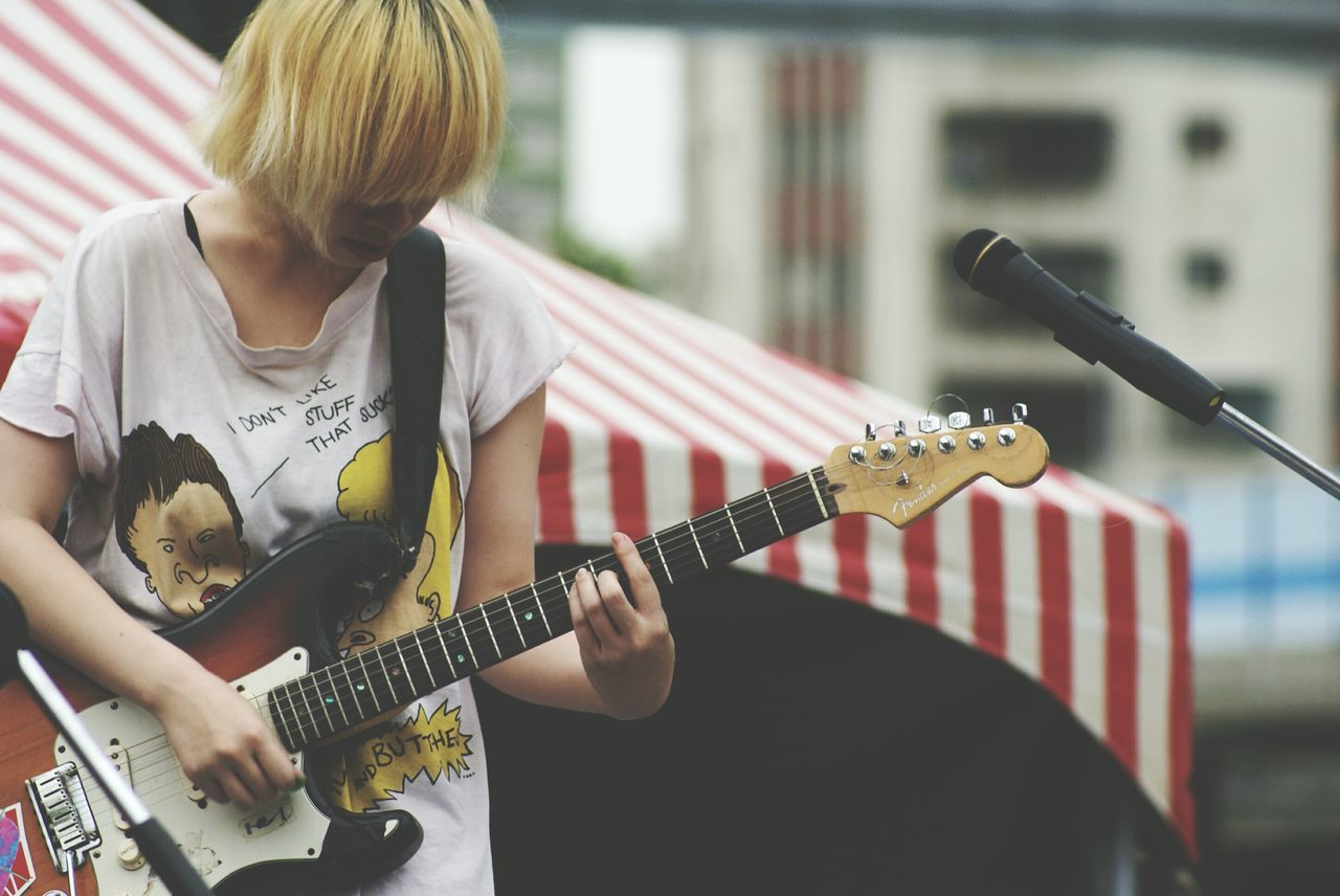 For The Love Of Music Live Stage Guitar Music Festival Great Performance Music Live Band  Playing Guitar Music Is Life