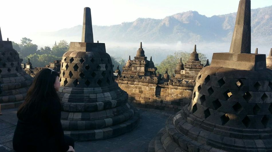Borobudur Temple Yogyakarta Central Java INDONESIA Seven Wonders Of The World