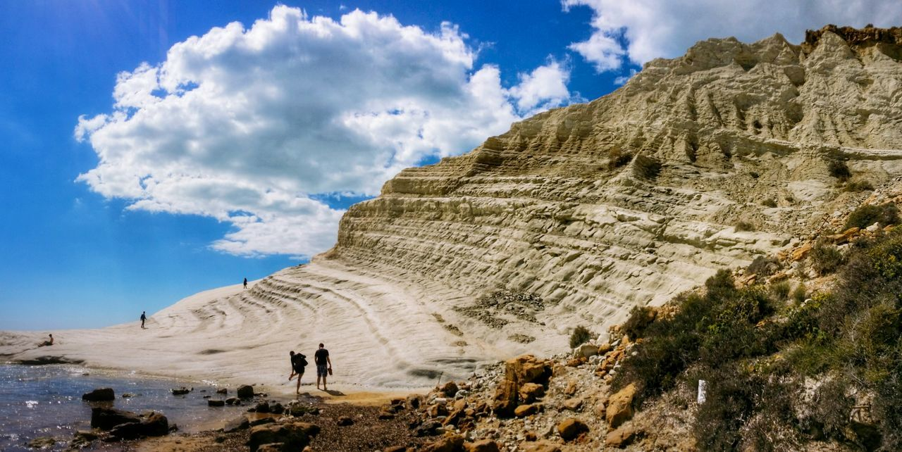 Showcase April Scala Dei Turchi Agrigento Sicily Italy Travel Photography Travel Voyage Traveling Mobile Photography Fine Art Panoramic Views Scenic Landscapes Landscapes With WhiteWall Blue Wave Nature Shorelines Cliffs Rocks Sea Reflections Sky Clouds Mobile Editing