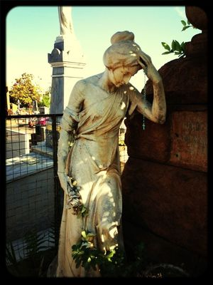 Graveyard Beauty in Araraquara by Déborah