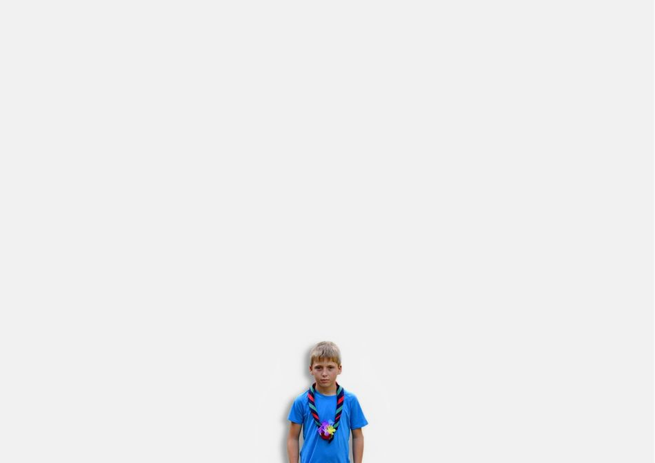Boy Kid Front View Portrait White Background One Person Scout Scouts Scouts Time Uniqueness