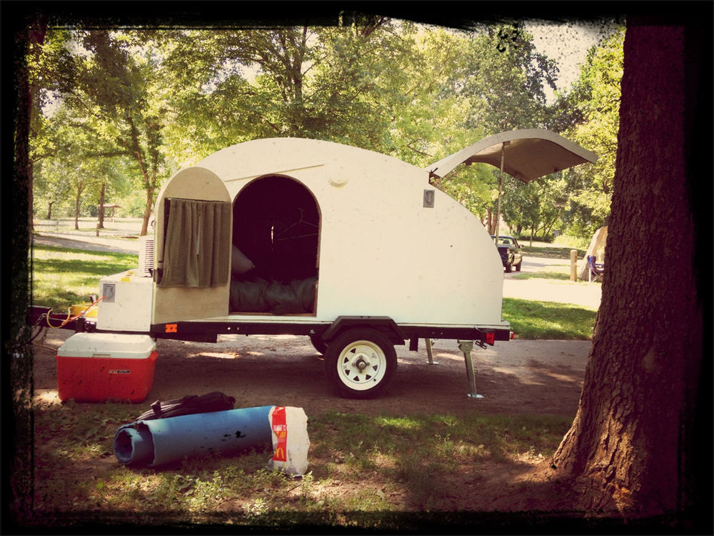 Camping at St Francois State Park by Onkel Art