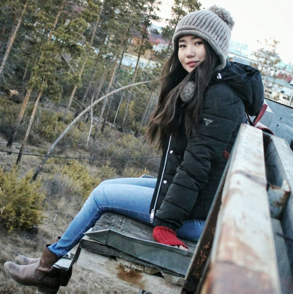 Relaxation Long Hair Casual Clothing Beauty Asian Girl Cute Girl Looking At Camera Happy Girls Are The Prettiest  Day Lifestyles