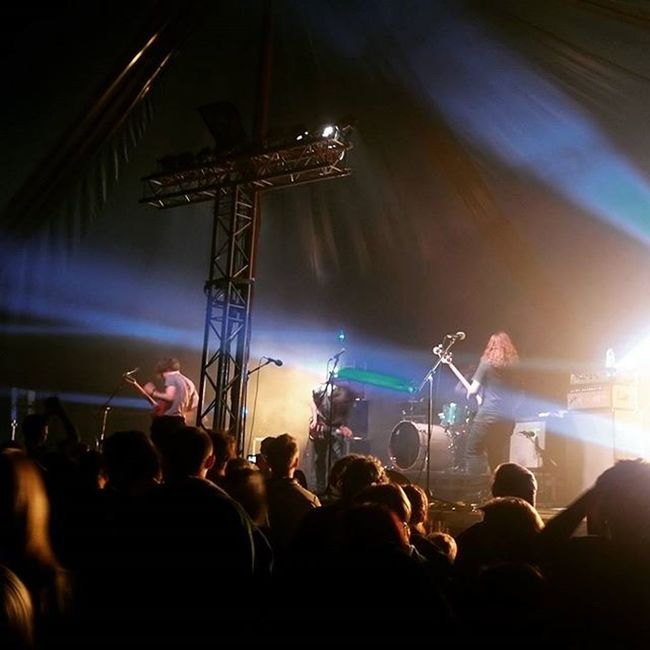 So @pulled_apart_by_horses on Friday night were brutal and fantastic Ynotfestival Ynot