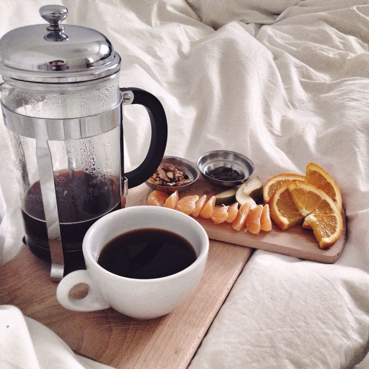 Breakfast In Bed Lazy Morning Coffee In Bed Breakfast For One