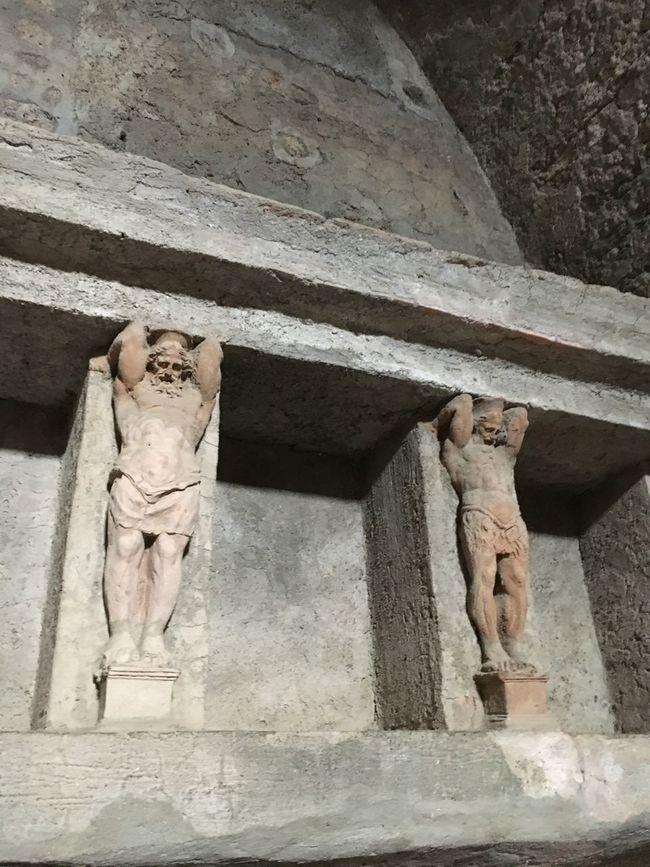 Ancient Ancient Roman Italy My Summer Vacation Pompeii  Roman Bath Sculpture Tourism