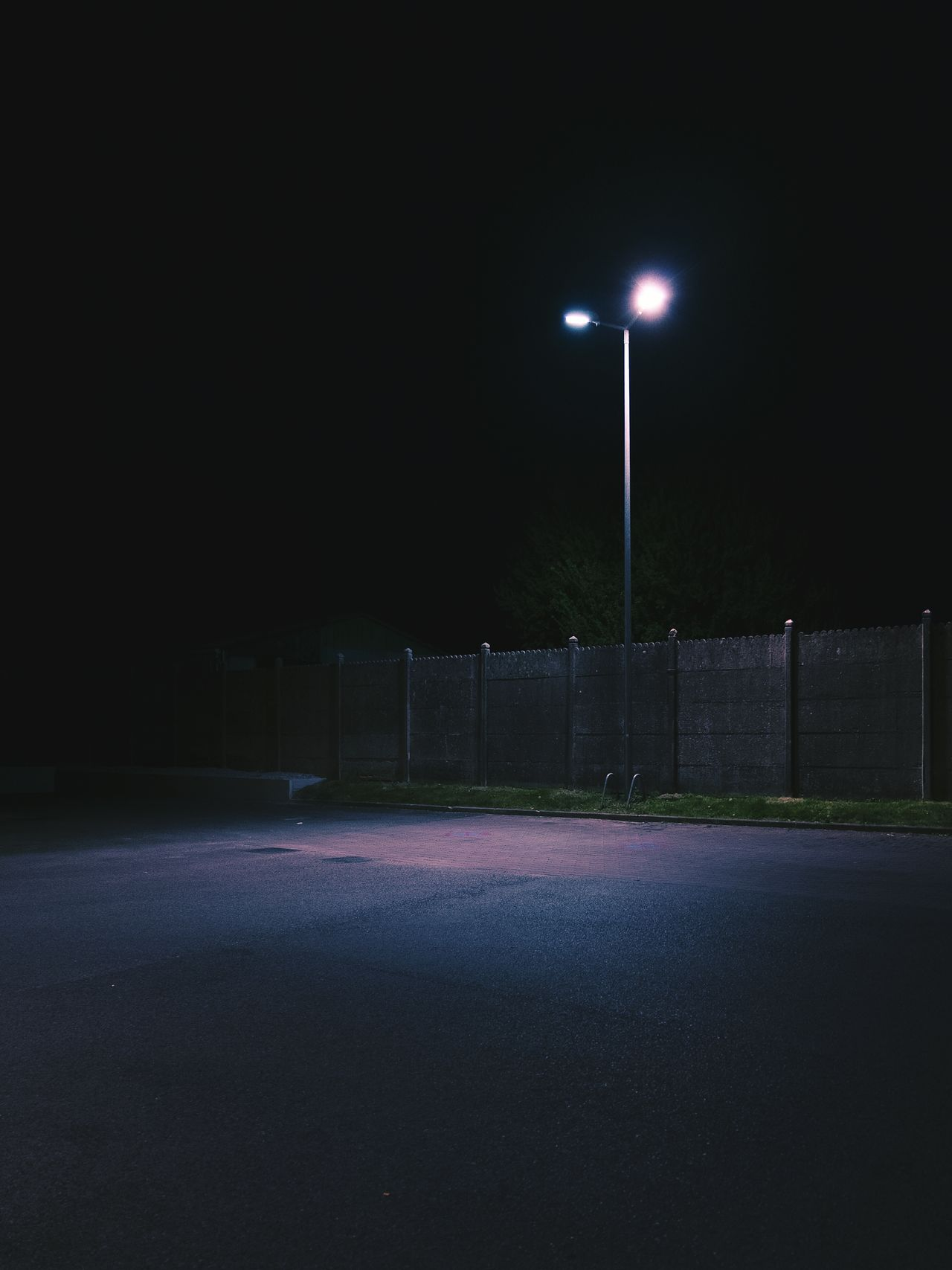 Lumiere nocturne - Saint-Saulve night illuminated Street Light no people sky spotlight nightsky Nightphotography vscocamedit VSCO vscocam photooftheday picoftheday purple longexposure urban Fresh on Market 2017