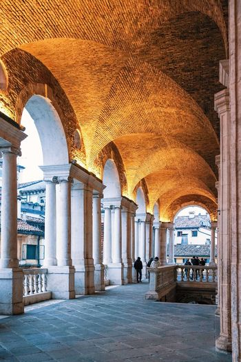 Basilica Palladiana Arch Architecture Architectural Column History Tourism Indoors  Corridor Travel Destinations Travel Built Structure Vacations Day No People