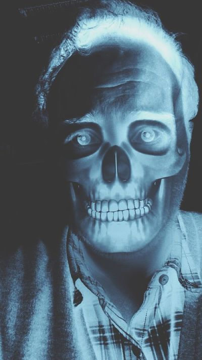 This Is Halloween 💀🎃 Halloween Selfportrait Selfie ✌ Skull JackSkellington MrJack Nightmarebeforechristmas