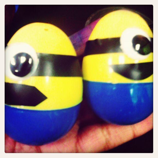minion eggs !!! DIY Work Diy Easter