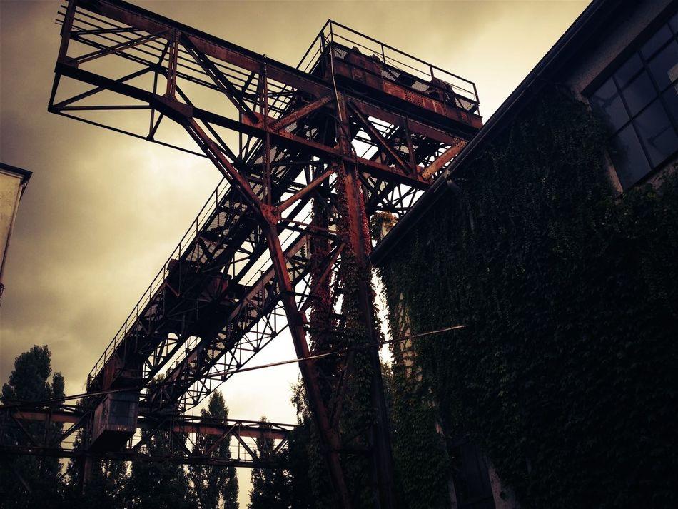 In Hamburg Kampnagel. Industrial Evening