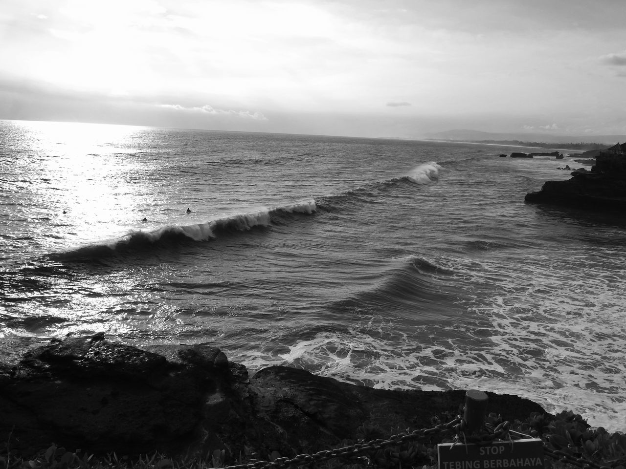 The Curve [BW] Tabanan Bali ~ Beach Beauty In Nature Blackandwhite Day Horizon Horizon Over Water Nature No People Ocean Outdoors Sand Scenics Sea Sky Sunset Sunset_collection Surfing Surfing Life Tanah Lot Tranquil Scene Tranquility Water Waves Waves Rolling In The Great Outdoors - 2017 EyeEm Awards
