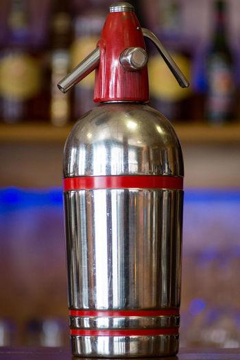 Close-up Cocktail Bar Cocktail Time No People Old Siphon Seltzer Seltzer Seltzer Bottle Vintage Bar Tool