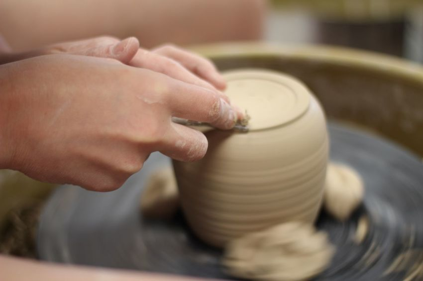 Ceramics Close-up Delicate Beauty Focus On Foreground Hands Human Finger Leisure Activity Person