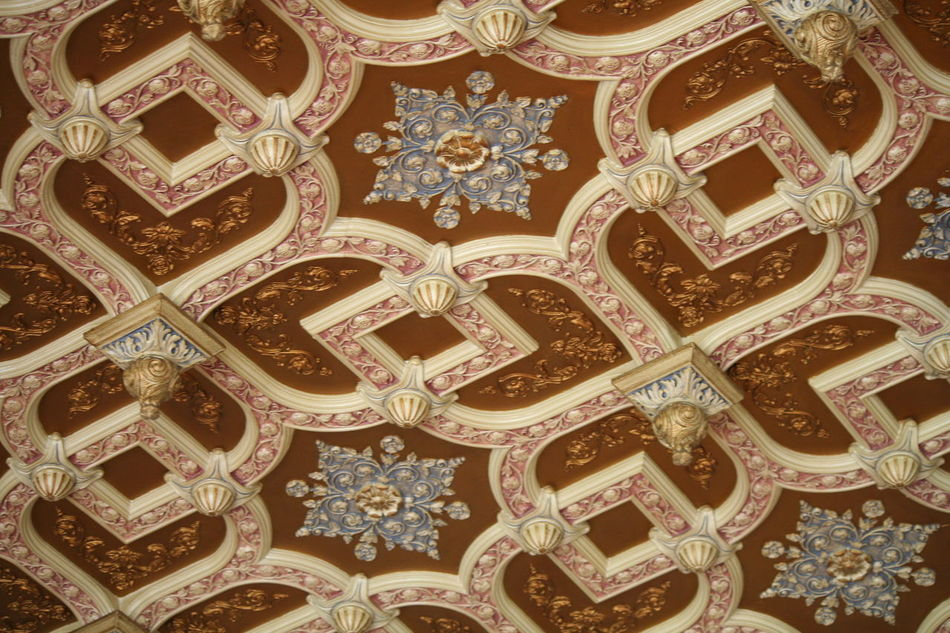 Architectural Feature Art Backgrounds Close-up Day Design Detail Full Frame Geometric Shape Multi Colored No People Ornate Pattern Repetition The Empress The Fairmont Empress Hotel