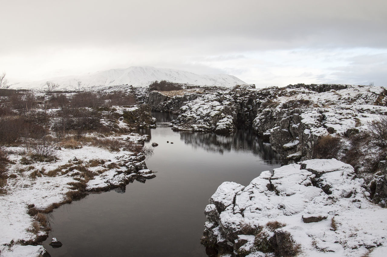 Beauty In Nature Mountain Nature Nature Outdoors Scenics Snow Thingvellir National Park Tourism Tourist Tranquility Travel Trip Winter þingvellir Þingvellir National Park