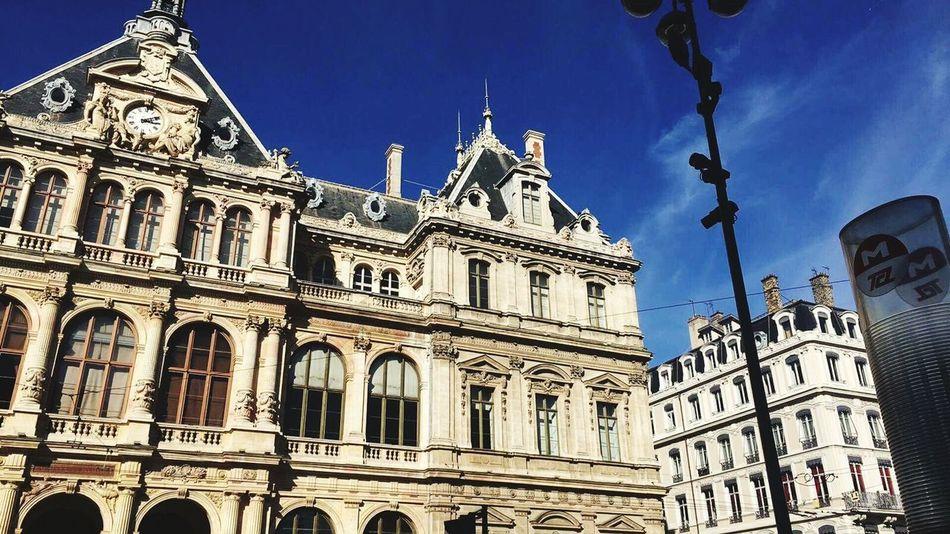 Architecture Day Scenics Travel Destinations Built StructureTourism 3XSPUnity Cloud - Sky Landscape France Lyon Place De La Bourse Palais