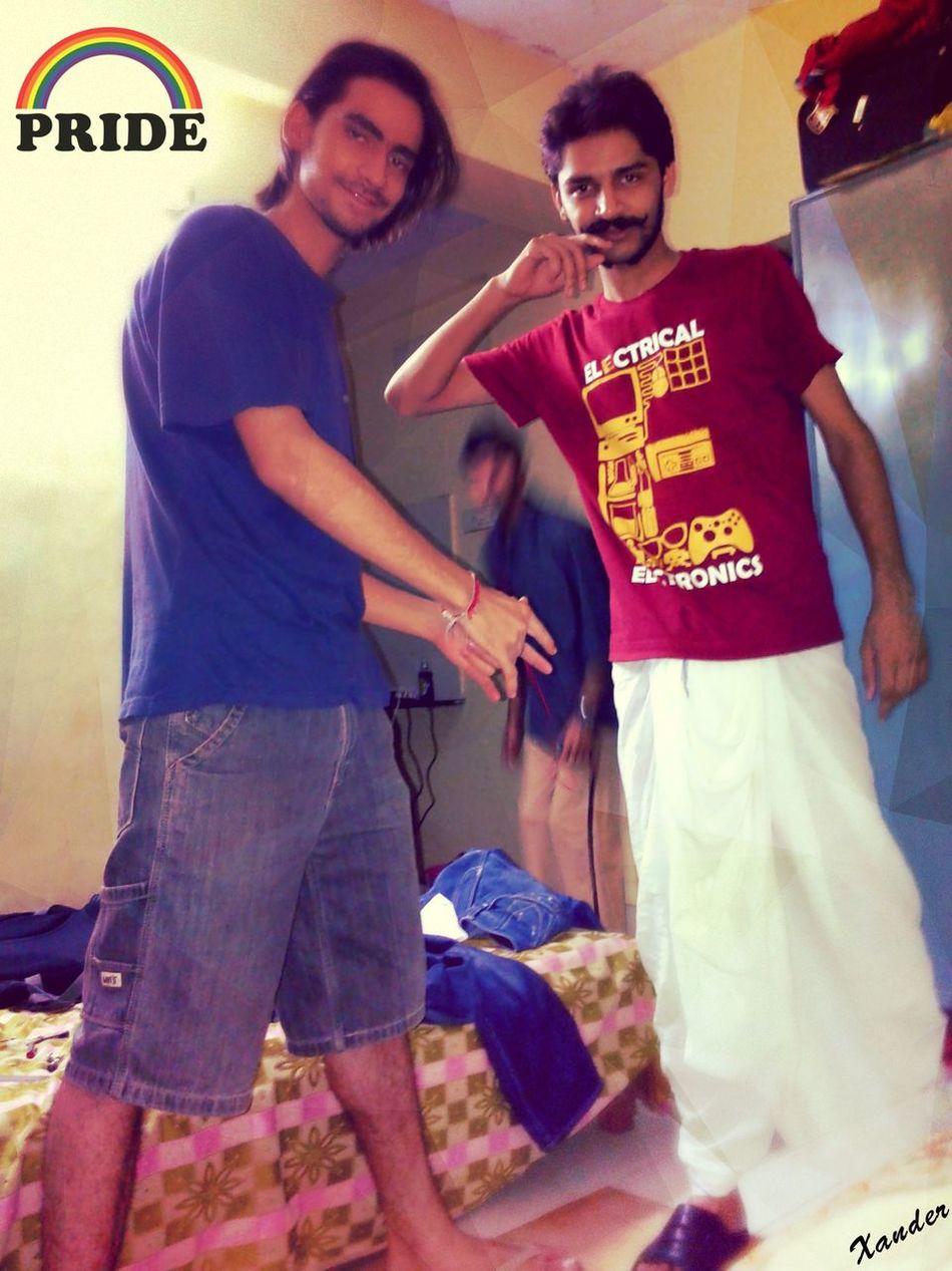 Friendship Bonding Dhoti Moustaches Hostels Engineerlife Freshers