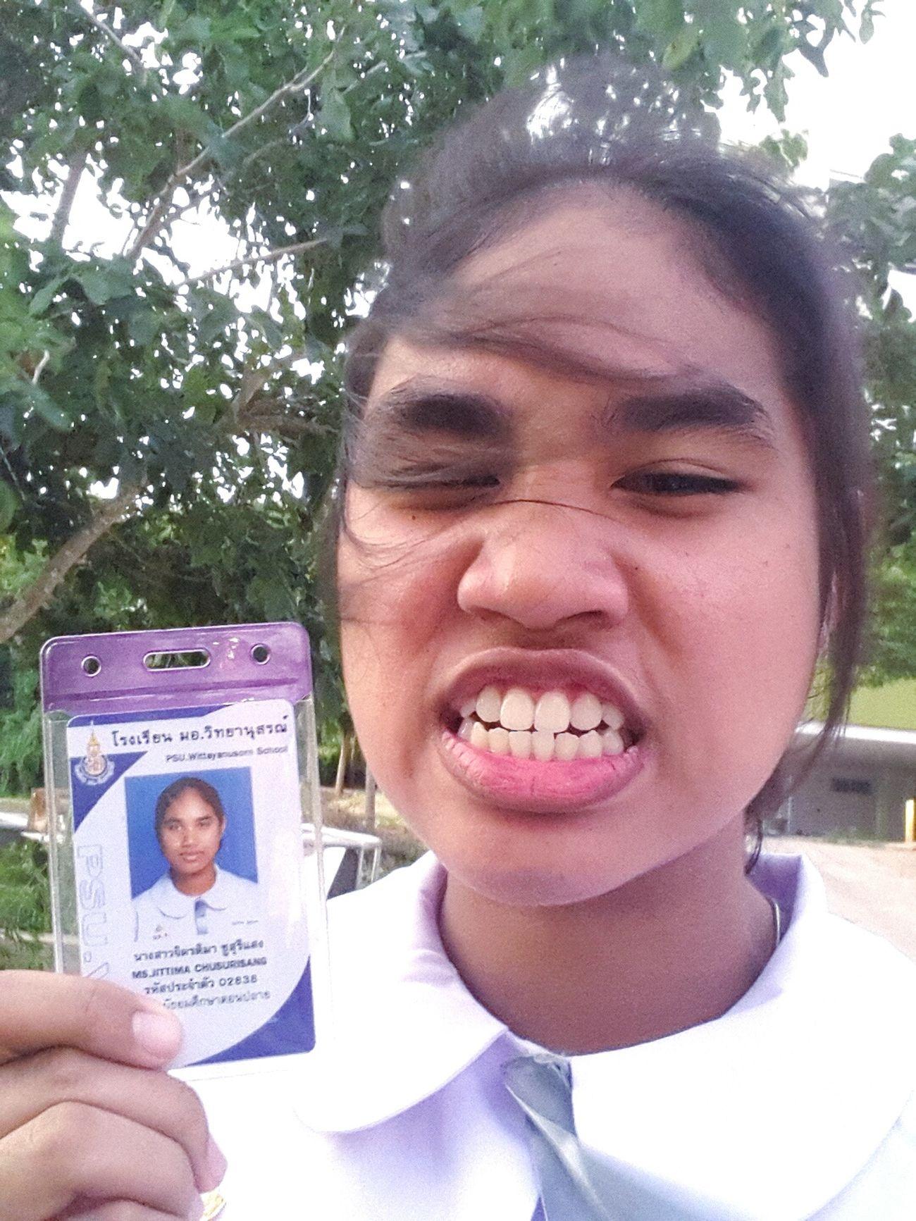 บัตรนักเรียนหน้าแบบ... First Eyeem Photo