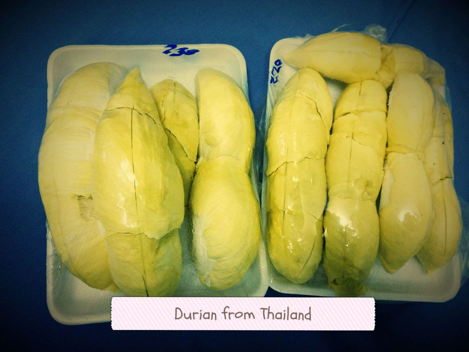 Durian from Thailand. It's good. :)