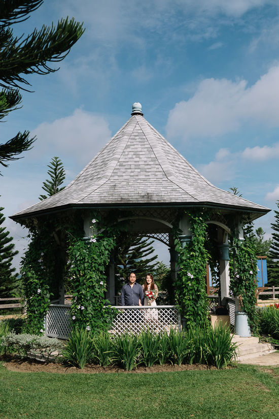 Gazebo Love Architecture Building Exterior Built Structure Cloud - Sky Countryside Day Full Length Grass Leisure Activity Lifestyles Nature Outdoors Park People Sitting Sky Tree Young Adult