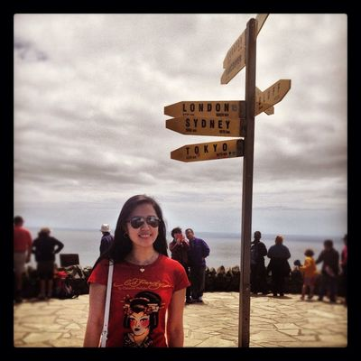 Having fun at Cape Reinga by RockChic