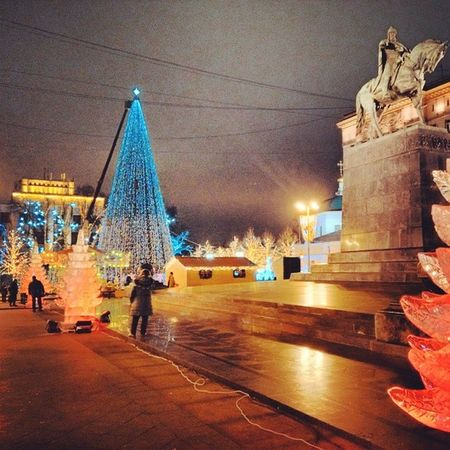 Москва  новогодняя  ярмарка