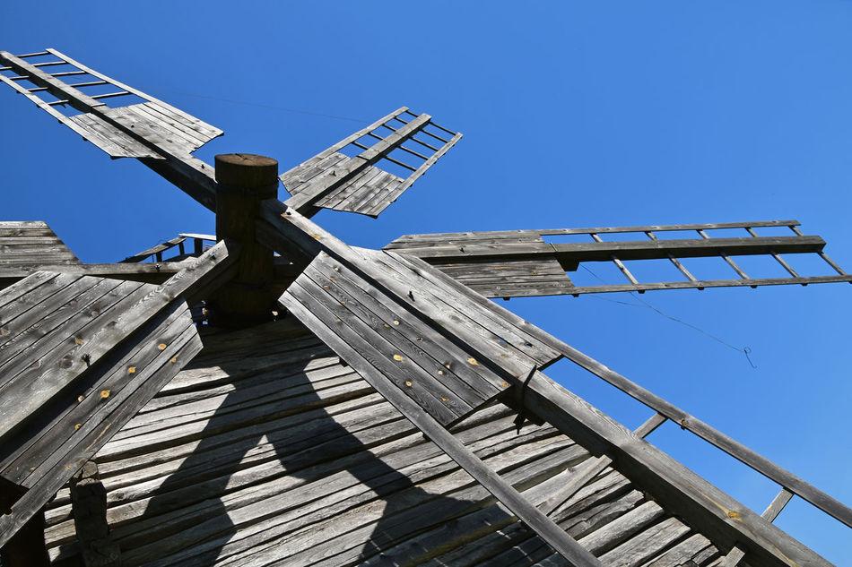 Beautiful stock photos of ukraine, blue, clear sky, wood - material, sunlight