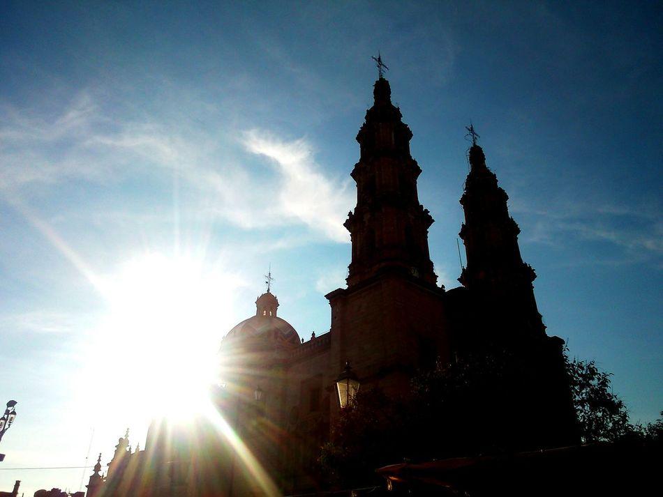 Mexico Travel Viajes  Jalisco San Juan De Los Lagos Iglesia Church Cielo Sky Sol Sun Visit Mexico Nice Place Temprano Por La Mañana Filters